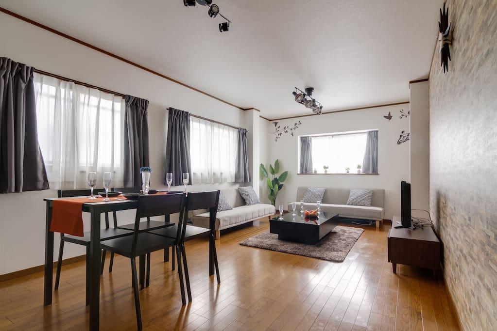 3F Dining room(Sofa bed×2)