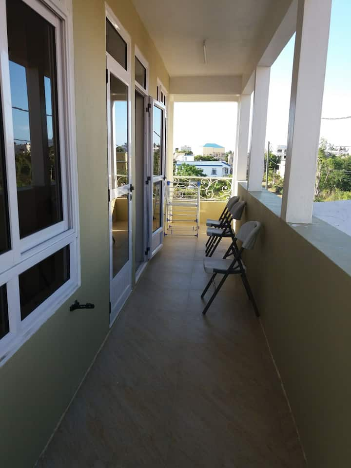 Villa Colosseo Mauritius - Street View First Floor Apartment