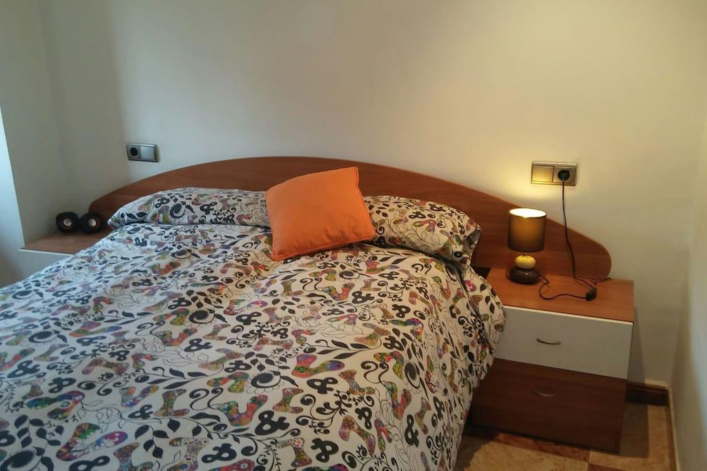 Cómoda cama viscoelastica