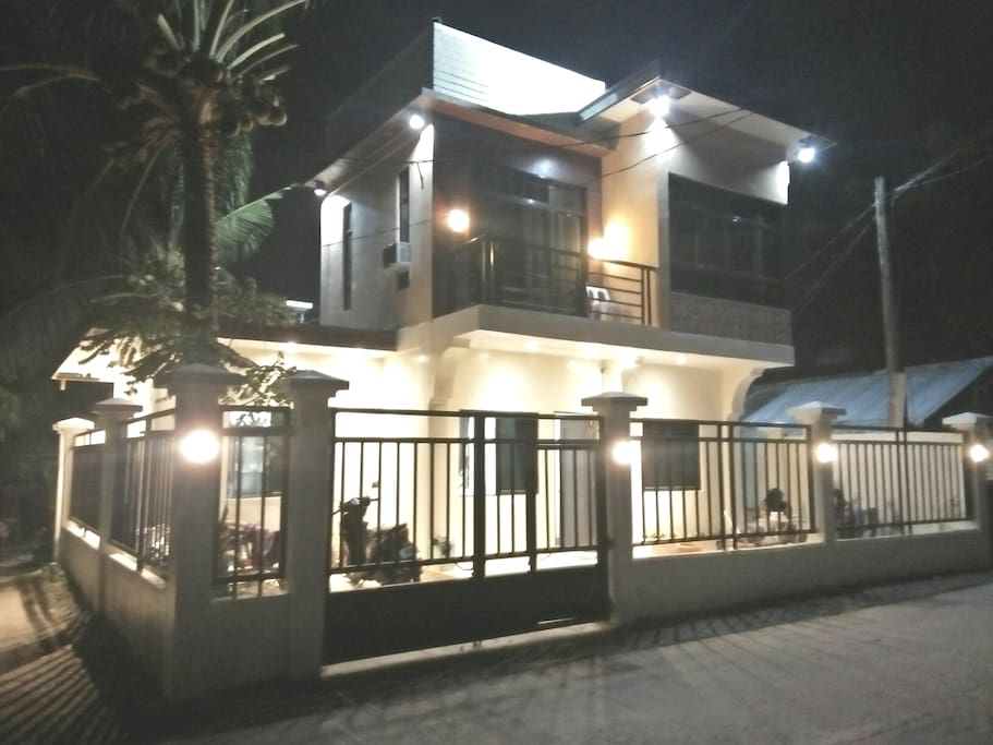 Night View of the house.