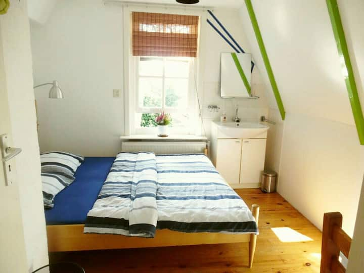 Cozy privat room in two floor House