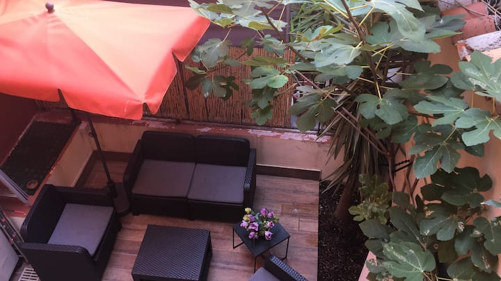 A pochi passi da Monaco, appartamento con terrazza