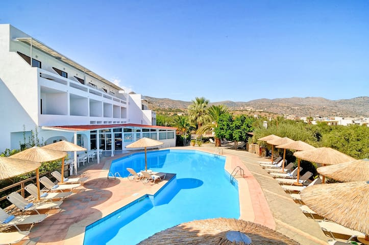 Elounda Krini Hotel | Family Suite Mountain View
