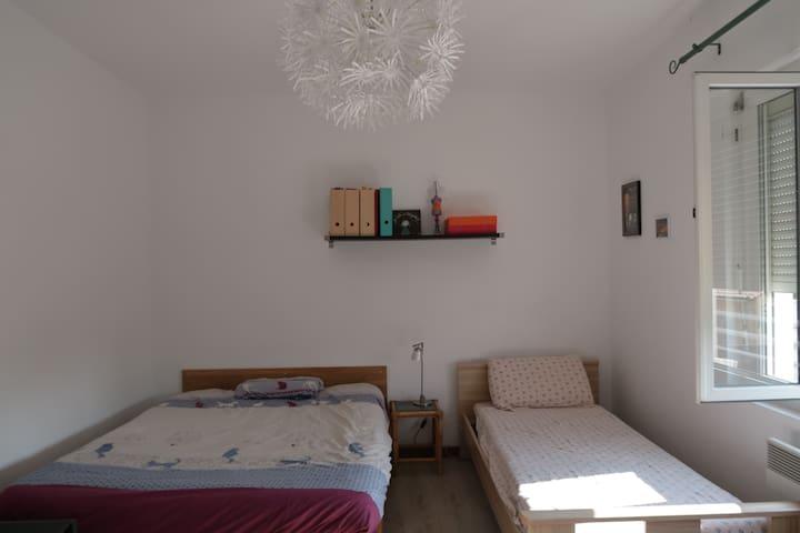 Chambre au calme proche  de Montpellier
