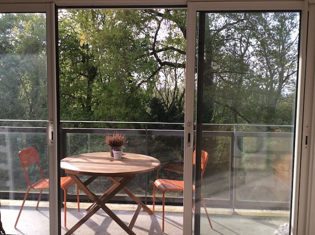 Appartement T2 proche centre et prairies St Martin - Rennes - Apartment