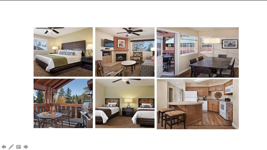 2 Bed/2 Ba Wyndham Condo~Sleeps 6~NO CLEANING FEES - Big Bear Lake - Huoneisto