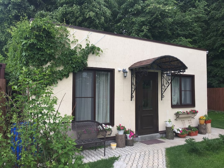 Guest house near the linden grove