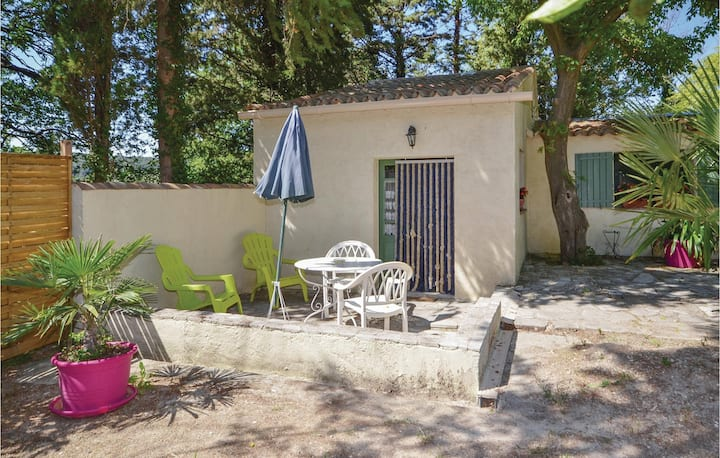 Nice home in Crillon le Brave with WiFi and 0 Bedrooms