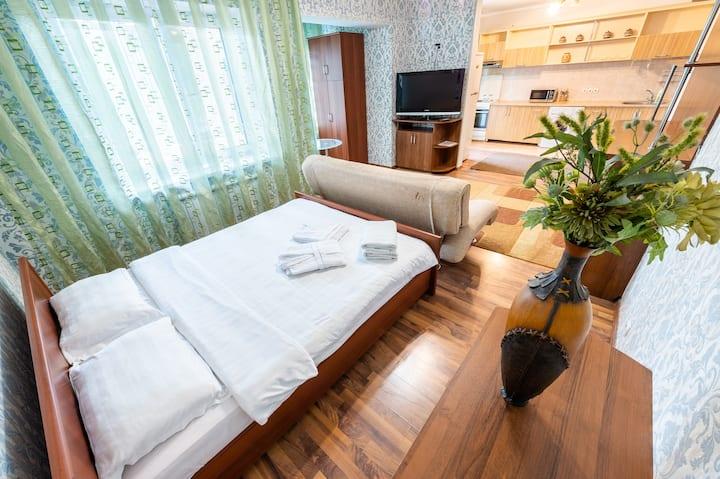 Квартира-студия с гостиничным сервисом
