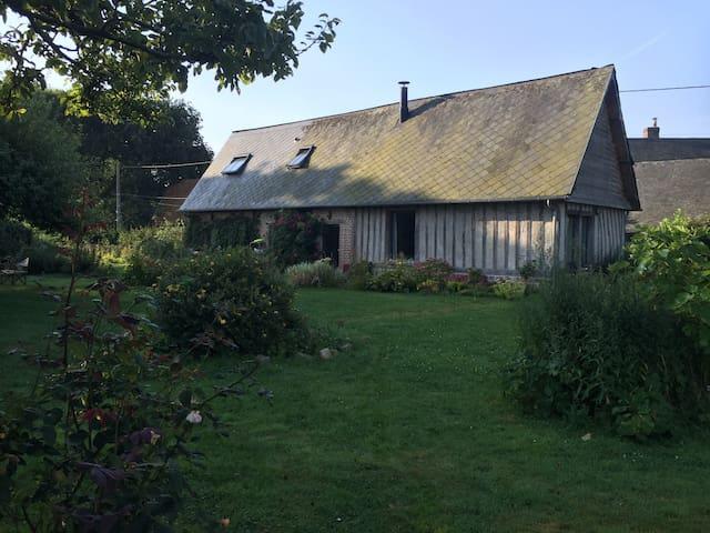 Grange rénovée Veules les Roses - La Chapelle-sur-Dun - Casa