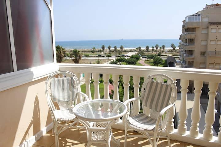 Acogedor apartamento en la playa de Daimuz
