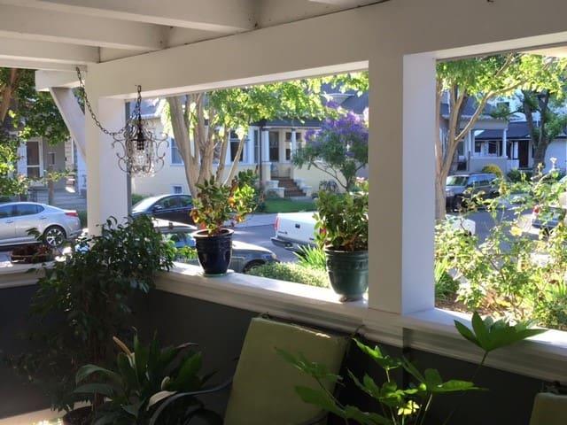 Naglee Park , Downtown San Jose, Blue room