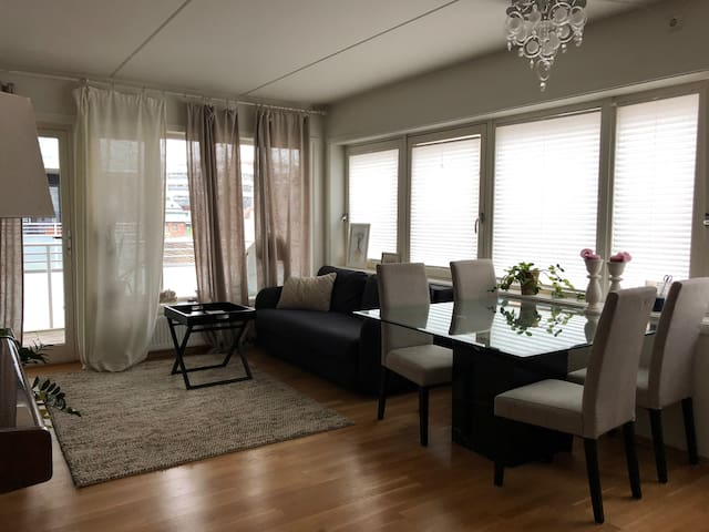 New apartment with terrace,central