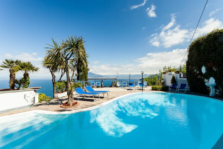 Villa Angela with private pool and sea view