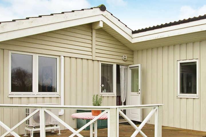 Idyllisches Ferienhaus in Rude mit Sauna