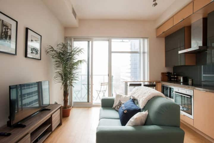 Super Central Downtown Condo Beside CN Tower