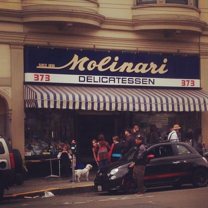 Photo of Molinari Delicatessen in North Beach