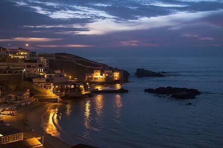 Casa de Playa espaciosa, tranquila y acogedora - San Bartolo