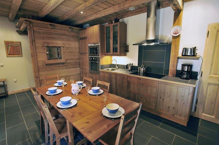 Appartement de charme dans chalet au coeur des 3V - Saint-Martin-de-Belleville - Departamento