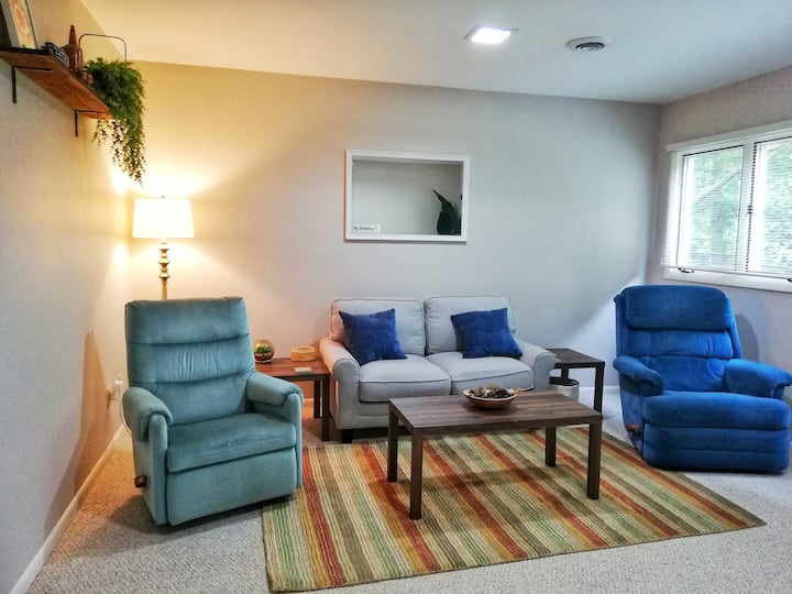 "Secondary ""In-Law""  Suite near ORNL/Y12/UPF (1Bed)"