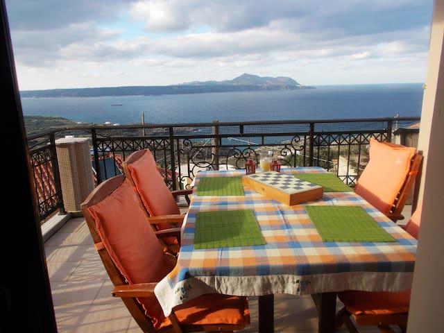 "Dreamy view ""Villa Charoupia"" - Kokkino Chorio"