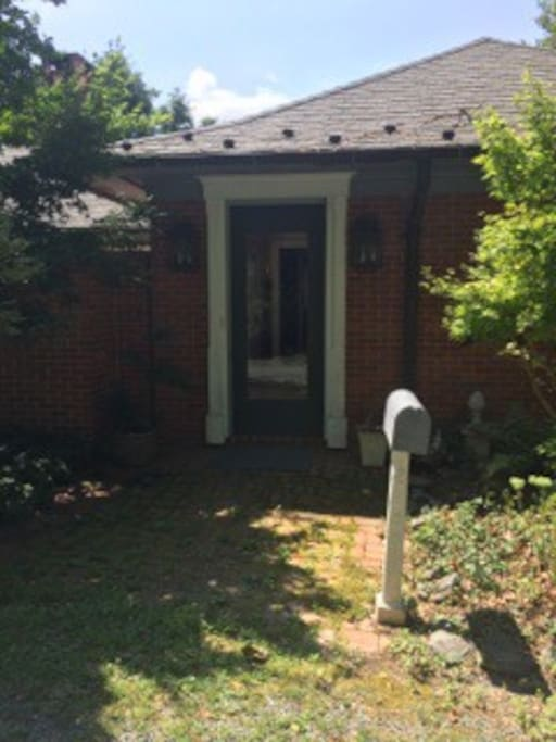 Front of property (host home)