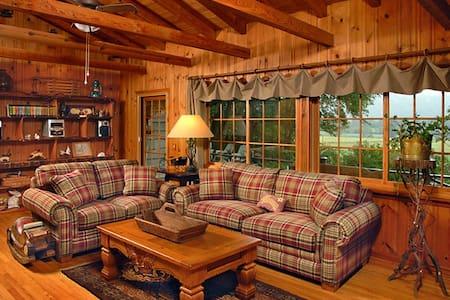 Cottontail Cottage Valley-Mountain Elegance View - Rabun Gap - Kabin