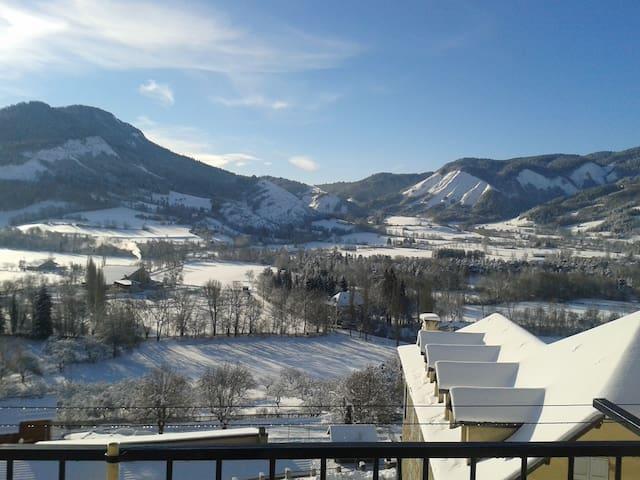 appart tout confort à 10 mn des stations de ski - Seyne - Apartament