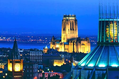 City Centre Cathedral-View apartment FREE PARKING - Liverpool - Wohnung