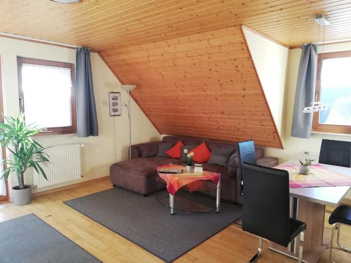 Haberjockelshof, (Titisee-Neustadt), Ferienwohnung Feldbergblick mit 75qm, 2 Schlafzimmer, max. 4 Personen