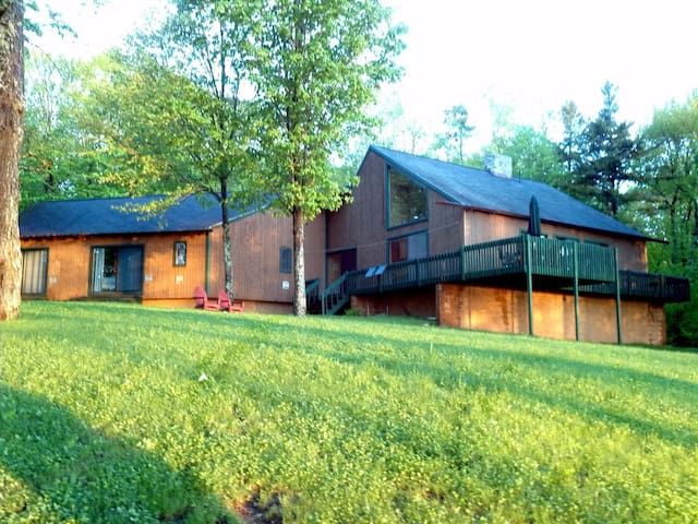 Private Lakefront Contemporary Chateaugay Lake