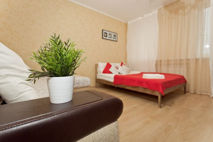 Large apartment / Centre / WiFi / Beautiful view - Nizhnij Novgorod - Appartamento