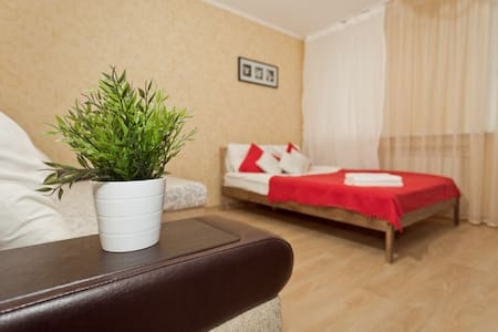 Large apartment / Centre / WiFi / Beautiful view - Nizhnij Novgorod - Apartemen