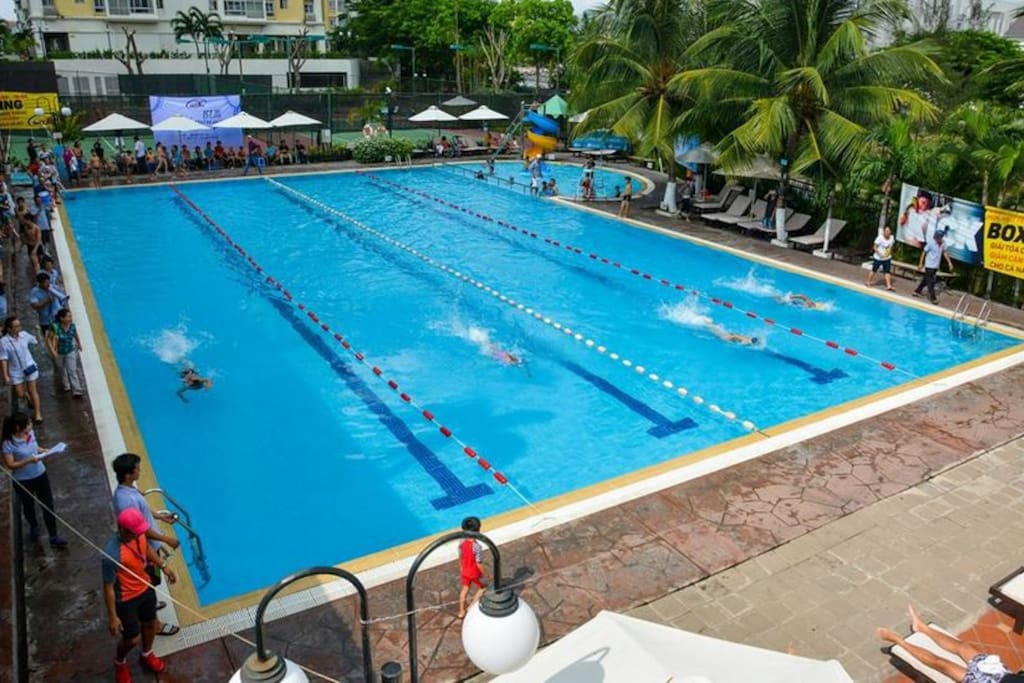 Swimming Pool with very cheap fee of using if any
