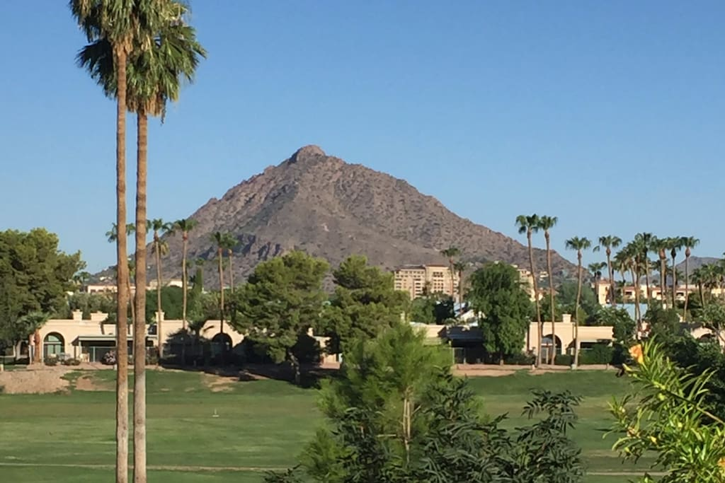 Actual Camelback Views from Both Bedrooms!
