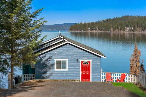 Beach Front Cottage Private Dock Lake Coeur dAlene
