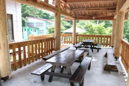 Condominium wrapped in the beautiful forest nature at the foot of Bandai Mountain【しゃくなげNO.19】