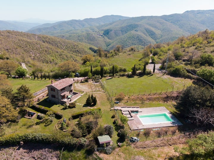 Rural Tuscany | House with private pool and garden