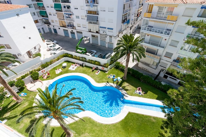 Cool White Apartment Torrecilla Playa Canovas (CN)