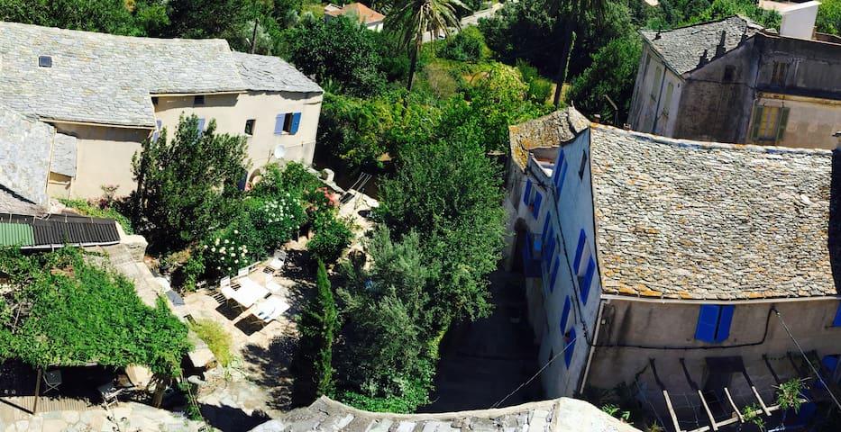 Belle maison de village avec jardin / Cap Corse