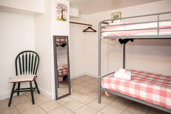 The Owl Room - Shared Coed (Right Top Bed)
