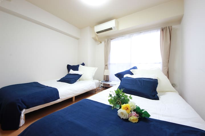 1 min walking from Shin-imamiya:#30 - Osaka - Apartamento