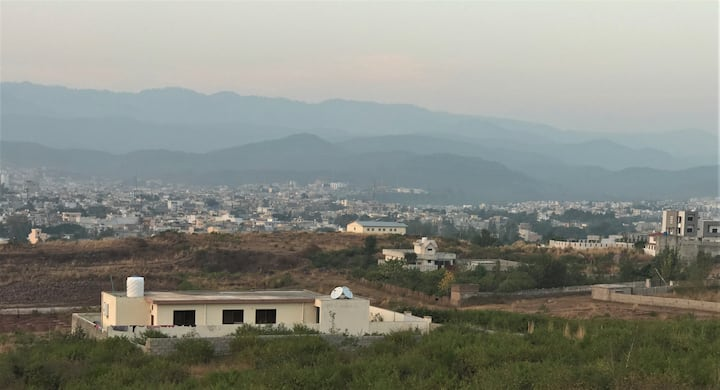 Islamabad House in Banigala Hills with Murree view