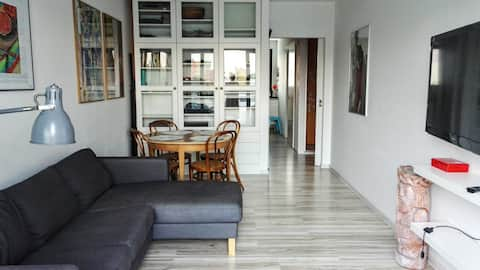 2-room fully equipped apartment with air condition
