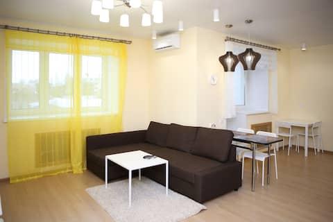 Уютная квартира в центре города.