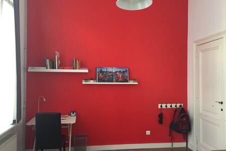 Private room + bathroom in the city center + bike - Antwerpen - Rivitalo