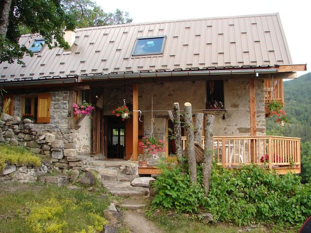 Chalet montagne Haut-Verdon Mercantour Val d'Allos - Colmars - Chalet