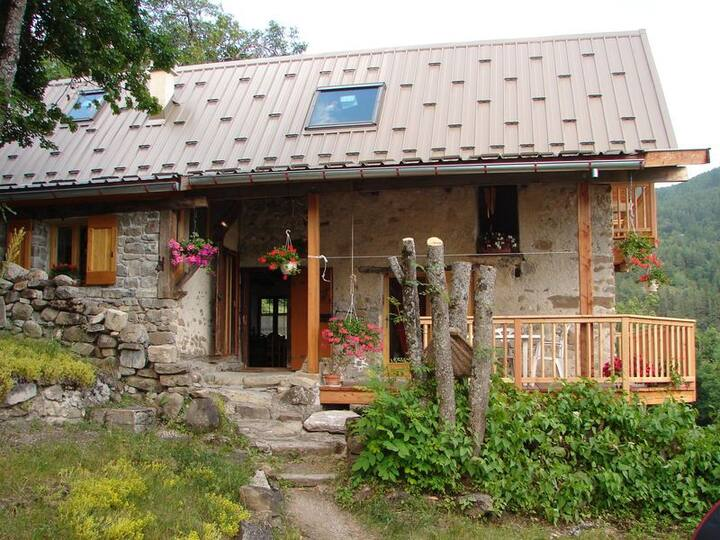 Chalet montagne Haut-Verdon Mercantour Val d'Allos