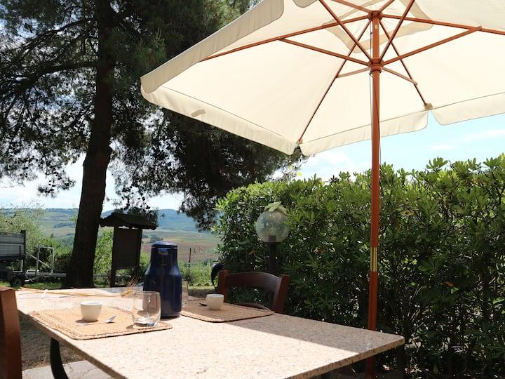 Dalla terrazza privata alla piscina tra gli ulivi