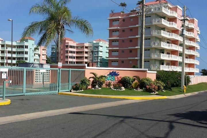 Comfy Beachfront condo with vast amenities